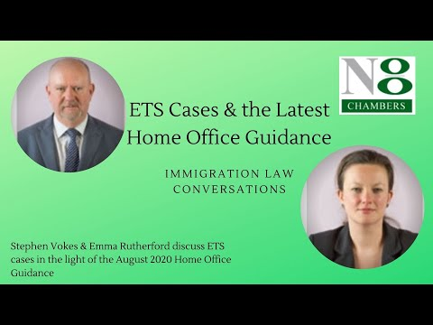 Immigration Law Conversations: ETS Cases & the Latest Home Office Guidance