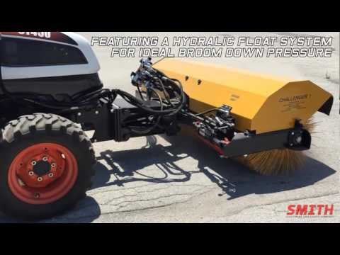 Smith Equipment Challenger 1 Sweeper Attachment