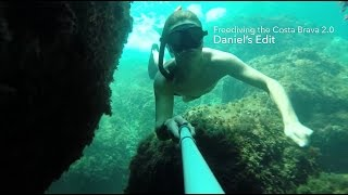 Freediving the Costa Brava 2.0 (Daniel