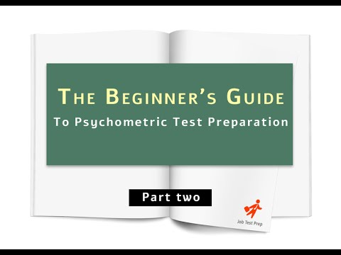 Psychometric Tests In 2019: A Complete Guide With Free Tests