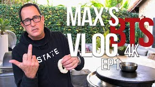 Sam the Cooking Guy Behind the Scenes | MAX'S VLOG EP1