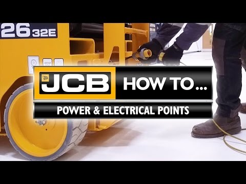 JCB Access - How to Electrical Points