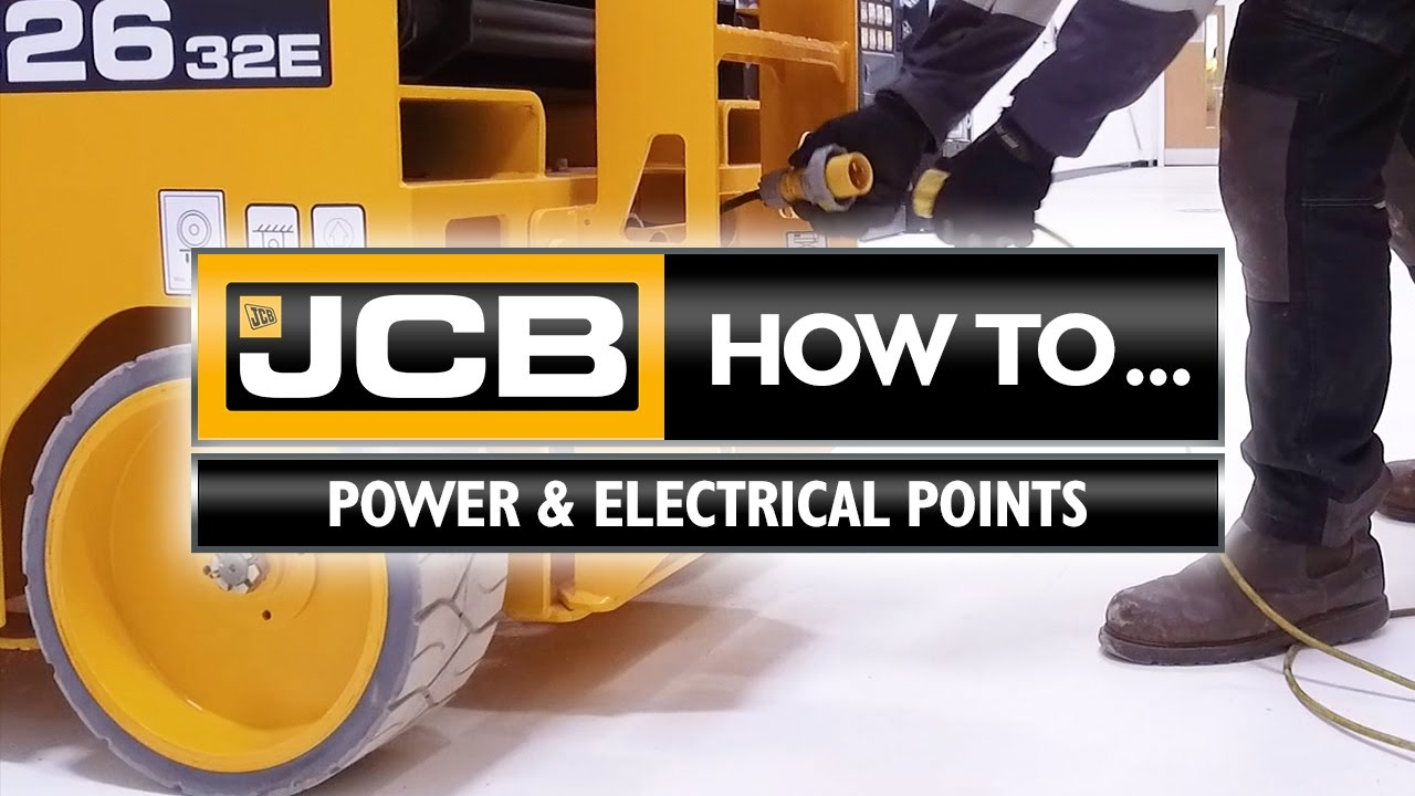 jcb access how to electrical points [ 1280 x 720 Pixel ]