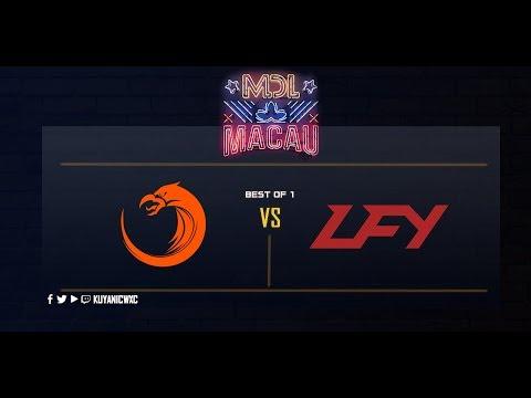 TNC Pro Team vs LFY Game 1 (Bo1) | MDL Macau