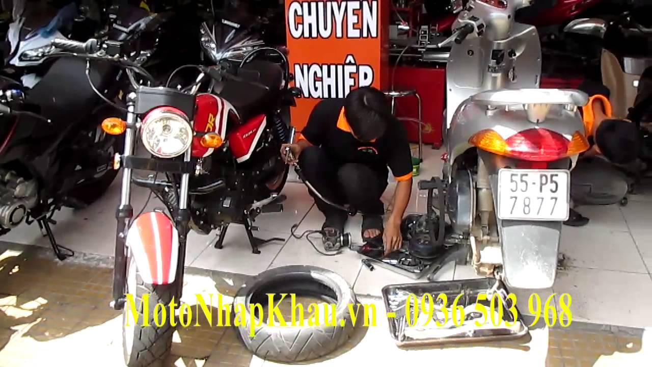 Tiệm sửa xe tay ga uy tín ở Sài Gòn