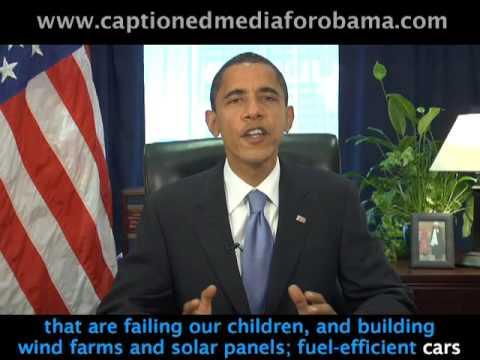 Prez Elect Obama's Nov. 22 Weekly Address (CAPTIONED)