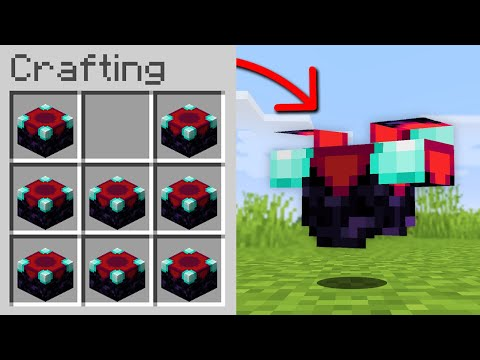 Minecraft, But You Can Craft Armor From Any Block...