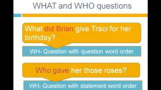 lesson 14 reported speech wh questions grammar
