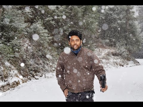 Snowfall in Bhutan-China International border (Episode 4)