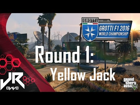 GTA V 2016 Grotti F1 World Championship - Round 1: Yellow Jack [HD]