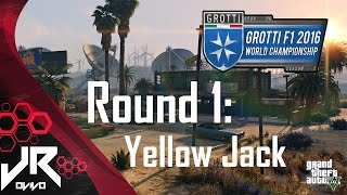 GTA V 2016 Grotti F1 World Championship - Round 1: Yellow Jack [HD]