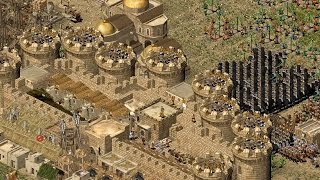 Stronghold Crusader - The Friends who Became Enemies | Multiplayer Gameplay