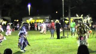 Mens Old Style Grass Dance Special in Prairie Island July 2012