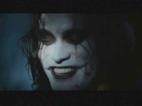 The Crow Brandon Lee Music Video Tribute The 69 Eyes Youtube
