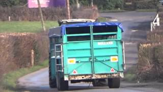 Deutz Fahr Agrotron & Rolland Cattle Wagon
