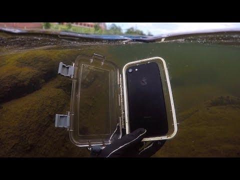 Found Lost iPhone 7 in River While Scuba Diving! (w/ Girlfriend) | DALLMYD
