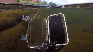 One of DALLMYD's most viewed videos: Found Lost iPhone 7 in River While Scuba Diving! (w/ Girlfriend) | DALLMYD