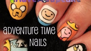 Adventure Time Nail Art