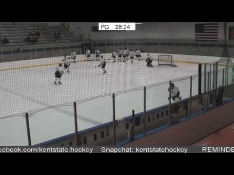 Kent State Ice Hockey vs Indiana University of Pennsylvania 10/14/2016