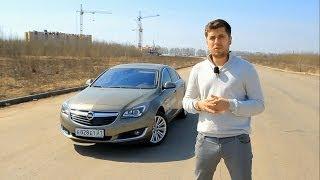 Opel Insignia(170 л.с.) Тест-драйв.Anton Avtoman.