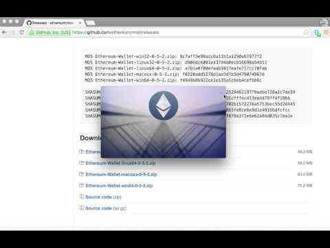 How to Install the Ethereum Wallet