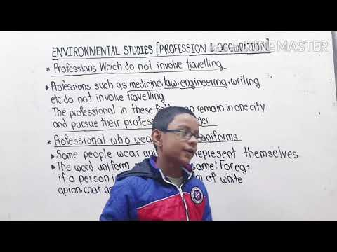 Grade 4 | Environmental Studies | Profrssion and occupation | Professions which do not in...|Part 4