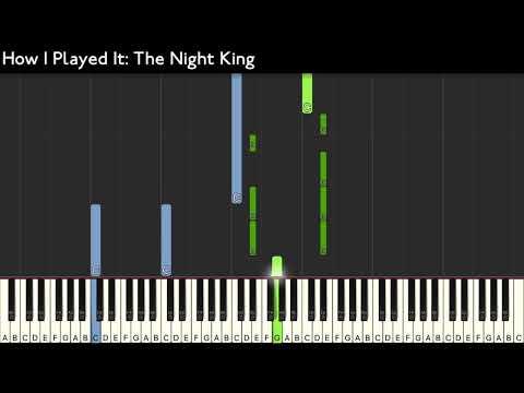 H.I.P.I : The Night King - Game Of Thrones - Karim Kamar [Piano Tutorial] (Synthesia) thumbnail