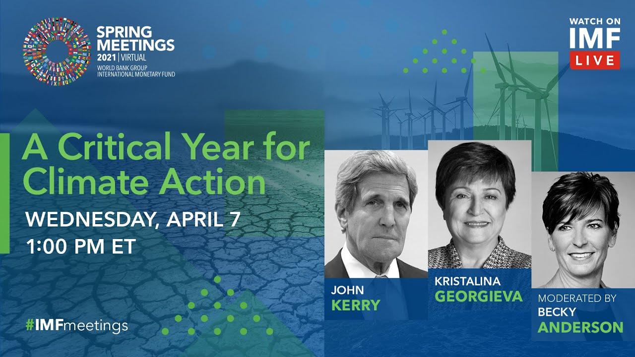 A Critical Year for Climate Action: A Conversation between Kristalina Georgieva and John Kerry