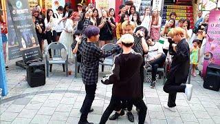 《BlockB_#HER》KingdomS#킹덤즈 블락비#헐 20190704 192234 Hongdae Busk…