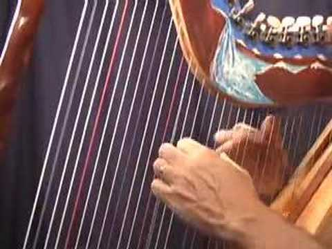 Daily Harp Moments-Blue Danube Waltz (key of D)