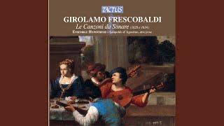 """In partitura, il primo libro delle 38 canzoni: Canzona III, """"La Lucchesina"""""""