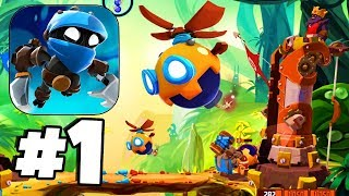 EPIC NEW BATTLE GAME! (WARNING ADDICTIVE) - Badland Brawl Gameplay Walkthrough Part 1