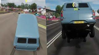 Wheelie and endo Ford transit 65 tune in forza horizon 4