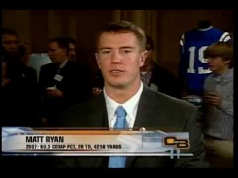 2007 Golden Arm Award: Matt Ryan (Out of Bounds Special)
