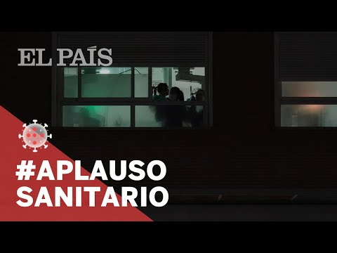 #CORONAVIRUS: Los APLAUSOS a los SANITARIOS en los BALCONES de ESPAÑA