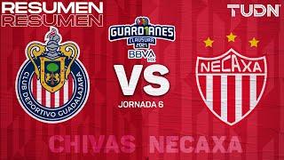 Resumen y goles | Chivas vs Necaxa | Torneo Guard1anes 2021 BBVA MX - J6 | TUDN