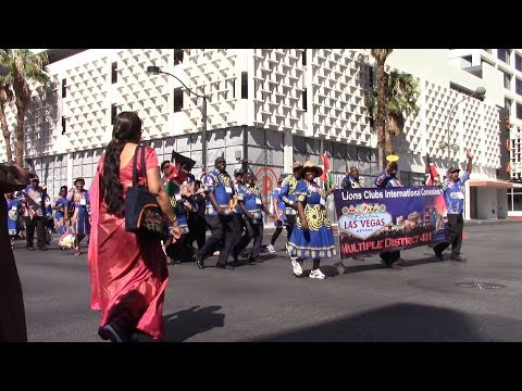 2018 Lions Club International Convention - Parade of Nations