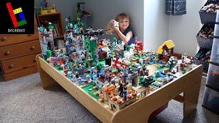 3 New LEGO Sets Added to Minecraft World + Reorganized!