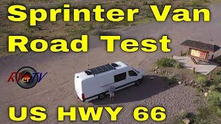Oatman Highway Historic US 66 - Sprinter Van Test Drive