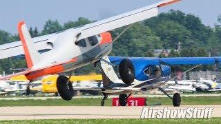 Gusty Oshkosh Arrivals (Sunday Part 2) - EAA AirVenture Oshkosh 2018