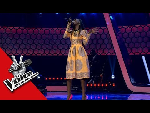 Carmy-J 'Turn Your Lights Down Low' Bob.M | Auditions à L'aveugle | TheVoiceAfrique Francophone 2017