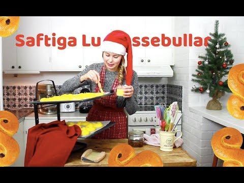 Julbaka Med Frida - Saftiga Lussebullar/Lussekatter