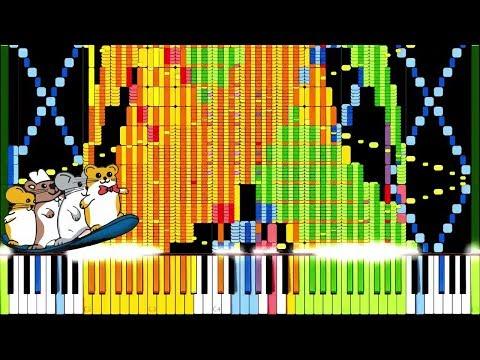 [Black MIDI] Synthesia - The Hampsterdance Song 1.10 Million