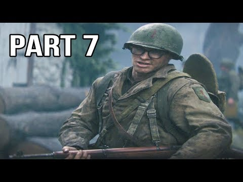 Call Of Duty WW2 Gameplay Walkthrough Part 7 - Hill 493