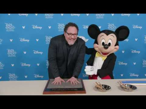 2019 Disney Legends Handprints at D23 Expo 2019