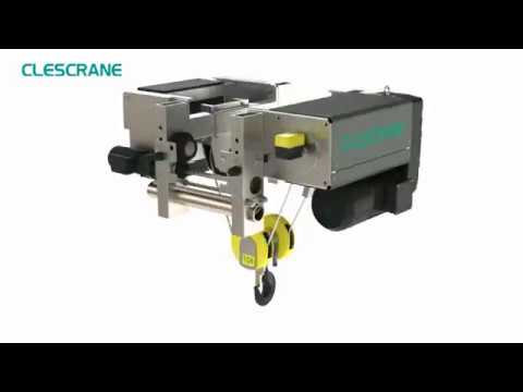 Electric Wire Rope Hoist Price With Motor In Overhead Crane Demag Type