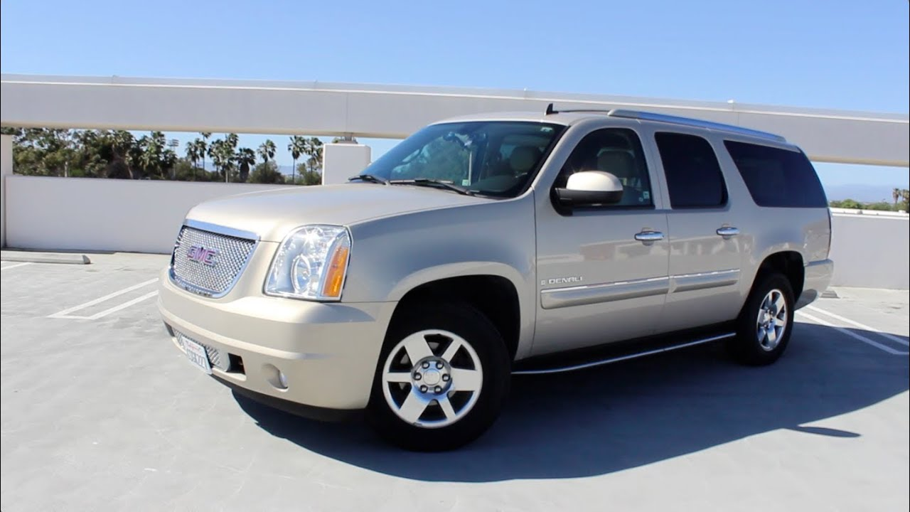 2007 GMC Yukon XL Denali AWD Review  YouTube