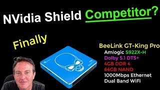 NVidia Shield Competitor? BeeLink GT-King Pro with Amlogic S922X