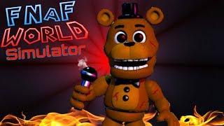 FNaF World Simulator | Episode 6 | Freddy's Evil!