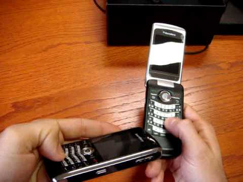 Hands on BlackBerry Pearl Flip 8220 Cellulare-Magazine.it